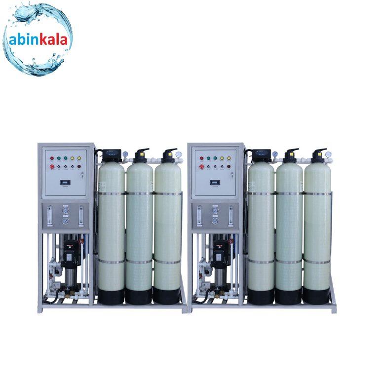 دستگاه تصفیه آب صنعتی مرغداری - ساخت یا مونتاژ آب شیرین کن
