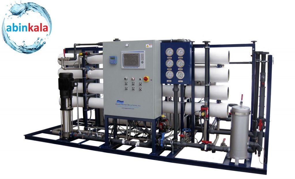 کاربرد تصفیه آب صنعتی در صنایع آب شیرین کن