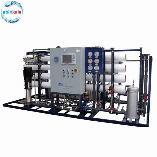 تصفیه آب صنعتی آب شیرین کن صنعتی