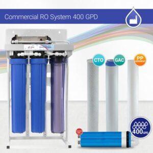 دستگاه تصفیه آب 400 گالن